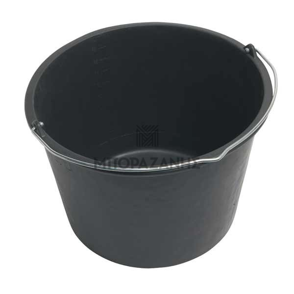 Μαύρος κουβάς 12 & 20 λίτρων