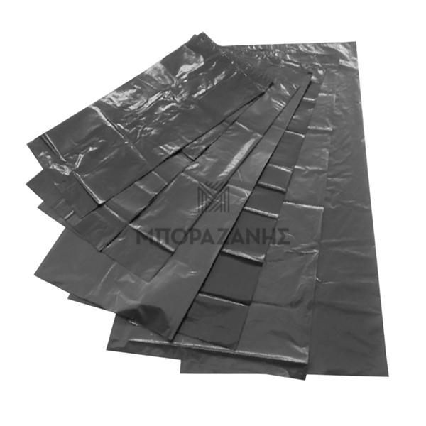 Μαύρες σακούλες σκουπιδιών χωρίς κορδόνι