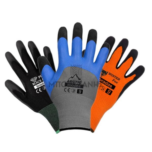 Γάντια εργασίας νιτριλίου - πολυεστέρα - πολυουρεθάνης