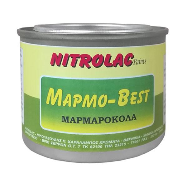 Μαρμαρόκολλα Marmo Μαρμο Best με καταλύτη 2 συστατικών NITROLAC