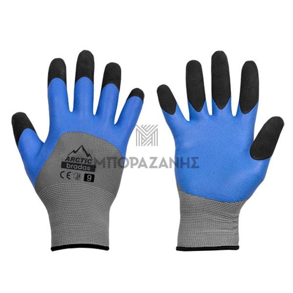 Γάντια εργασίας LATEX Bradas ARCTIC RWA10