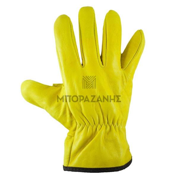 Γάντια δερμάτινα οδηγού
