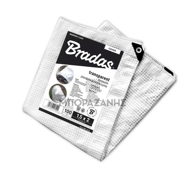 Διάφανος μουσαμάς Bradas Leno Cristal 100γρ/m2